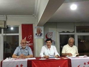 Ekrem Şama Saadet Partisi İl Divan Toplantısına katıldı