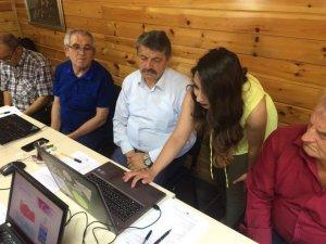 Şehit yakınları ve gazilere internet eğitimi verildi
