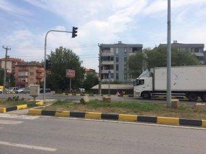 Ölüm kavşağında trafik ışıkları faaliyete geçti