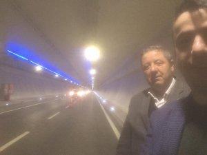 Avrasya Tüneli'nden Bartın heyeti de geçti