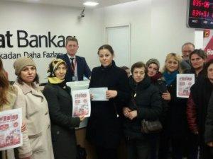 Ak Kadınlardan Halep'e destek