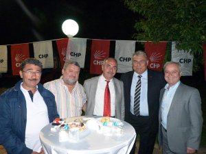 CHP İl Başkanlığı resepsiyon verdi