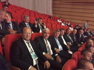 Cumhurbaşkanı Erdoğan, belediye başkanlarıyla görüştü