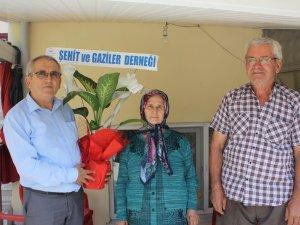 Dernek Başkanı Altunok'tan şehit ailesine ziyaret