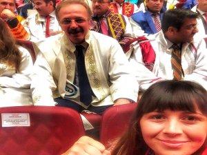 Rektör Uzun Ankara'da düzenlenen Akademik yıl açılışına katıldı
