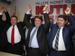 AK Parti Bartın İl Başkanlığı'nda görev değişimi