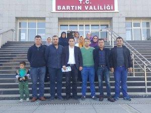 Mağdur aileler Vali Dirim'i ziyaret etti