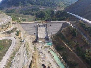 Kirazlıköprü Barajı inşaatı 21 Kasım'da bitiyor