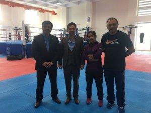 Federasyon Başkanı Çelen, yeni yapılan cimnastik salonunu inceledi