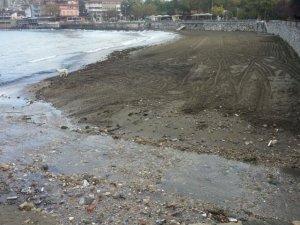 Amasra'da Atıklarla Kaplanan Sahil Temizlendi