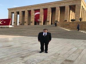 Milletvekili Yalçınkaya, Anıtkabir'deki anma törenine katıldı