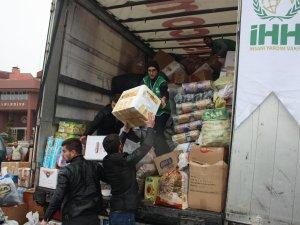Bartın'dan Halep'e Yardım Tırı Yola Çıktı