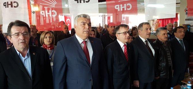 CHP İl Başkanı Arslan'ın partisine yönelik yaptığı özeleştiri ilçe kongresine damga vurdu