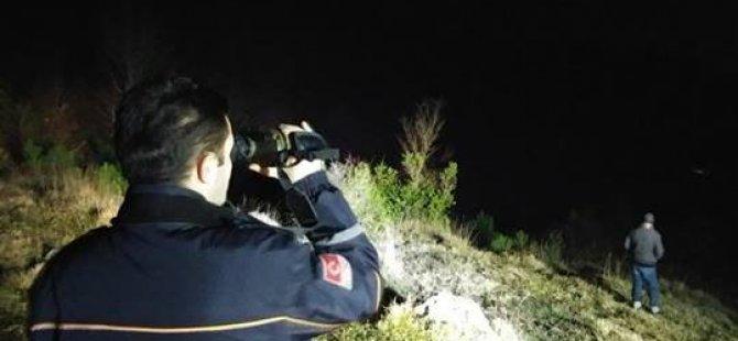 Ereğli'de Kayıp Kişi Termal Kamerayla Arandı