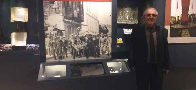 Müzede şehitler bölümü oluşturuldu
