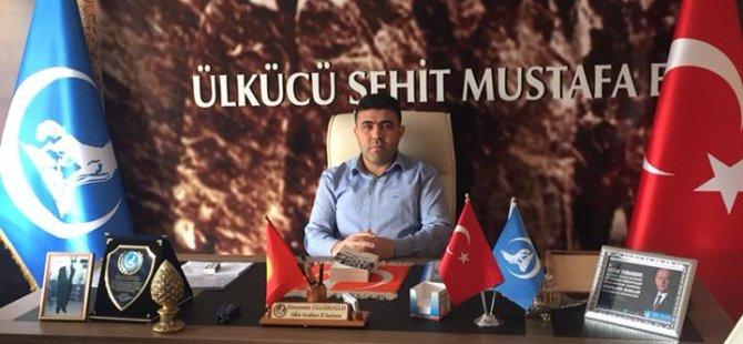 Ülkü Ocaklarından 'Türk Bayrağı Asalım' Çağrısı