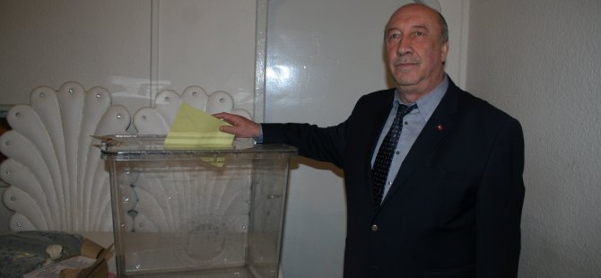 Bartın Şoförler Odası Başkanlık seçimi yapıldı