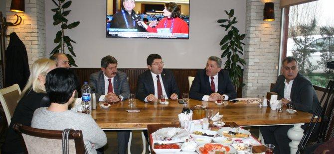 Milletvekili Tunç, yatırımlarla ilgili bilgi verdi