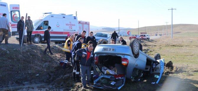 Bolu'da Trafik Kazası: 5 Yaralı