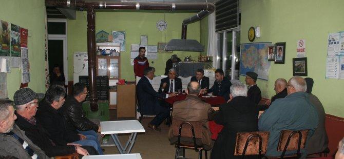 AK Parti İl Başkanı Kalaycı, köy ziyaretlerinde ülkemizin geldiği konuma dikkat çekti