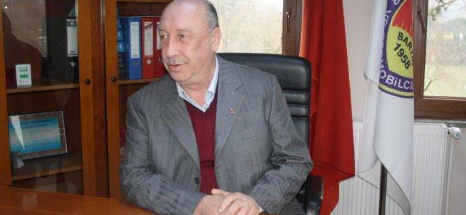Esnaf Odası Başkanı Amasralı, sigorta prim borcu kredisi ile ilgili bilgi verdi