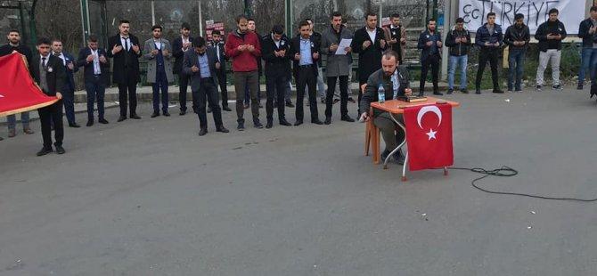 Çakıroğlu için Ağdacı Kampüsünde anma programı gerçekleştirildi