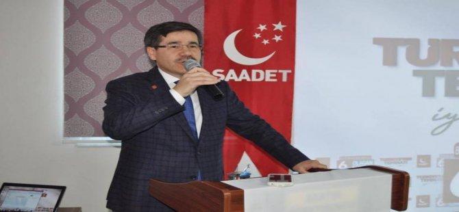 İl Başkanı Yurtbay, ölüm yıldönümünde Erbakan'ı yad etti
