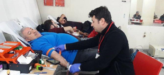 Bir ayda 368 ünite kan bağışı