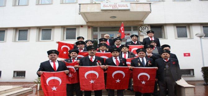 Gazilerden gönüllü askerlik başvurusu