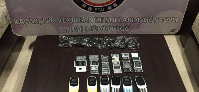 Bolu'da Cep Telefonu Kaçakçılığı