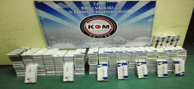 Bolu'da Sigara Kaçakçılığı