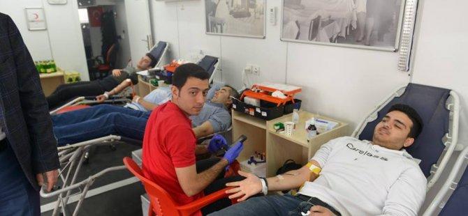 3 günde 184 ünite kan ve kök hücre bağışı alındı