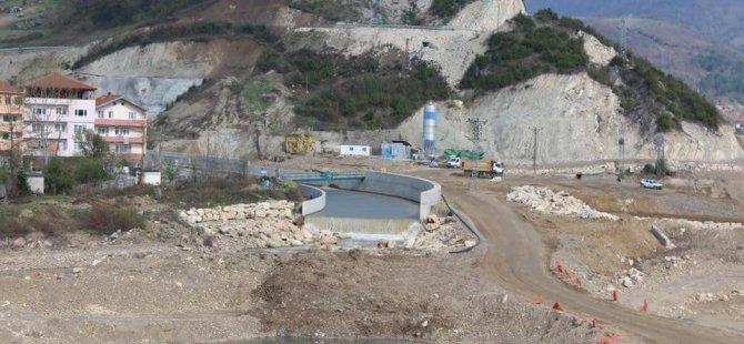 Bartın Milletvekili Tunç, Baraj İnşaatını İnceledi