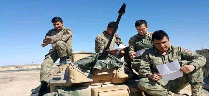 Duygu dolu mektuplar askerlerimize ulaştı