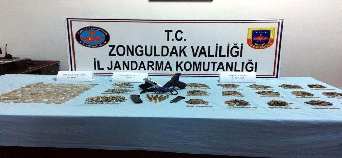 Zonguldak'ta Tarihi Eser Operasyonu