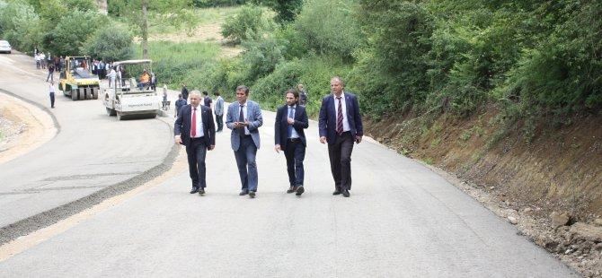 Türkiye Çimentolar Birliği beton asfalt çalışmalarını inceledi