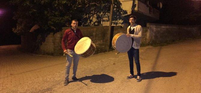 Ramazan davulu geleneği yaşatılıyor