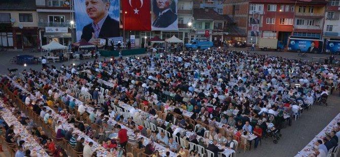 Ulus Belediyesi 2 bin kişiye iftar verdi