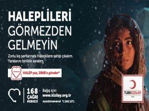 Minik öğrencilerden Halep'e yardım