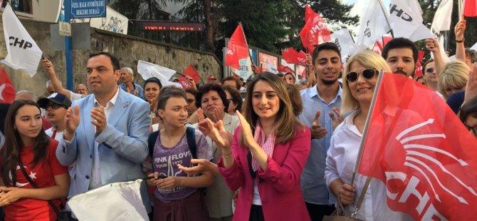CHP Milletvekili Adayları destek istedi