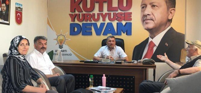 İl Başkanı Kalaycı, Halk Günü Toplantılarına devam ediyor