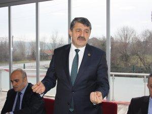Akın'dan Genel Başkanına tam destek