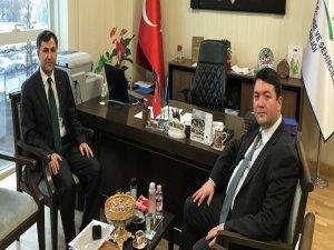 Bartın Atıksu Projesini Ankara'da anlattı