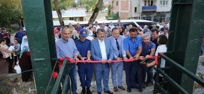 Zeytin Dalı Köprüsü ve Mesire Alanı açılışı gerçekleştirildi