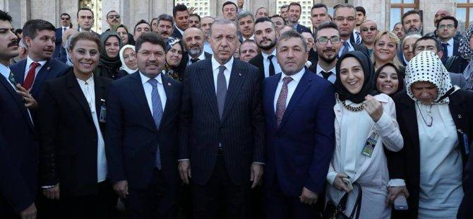 İl Başkanı Kalaycı, Cumhurbaşkanı Erdoğan'ı Bartın'a davet etti