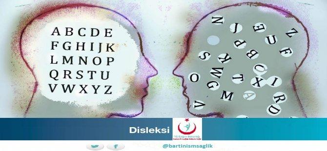 'Disleksi ilköğretime yeni adım atan çocuklarda kendini gösteriyor'