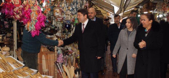 AK Parti MKYK Üyesi Enç, Amasra'da ziyaretlerde bulundu