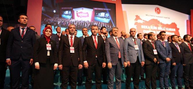 Milliyetçi Hareket Partisi adaylarını tanıttı
