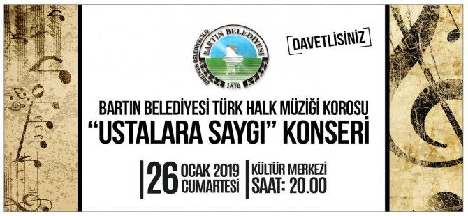 Türk Halk Müziği Korosu sahne alacak