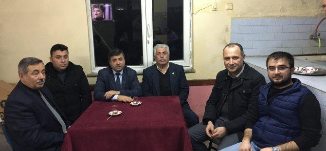 MHP İl Genel Meclis Üyeleri köy ziyaretlerine başladı